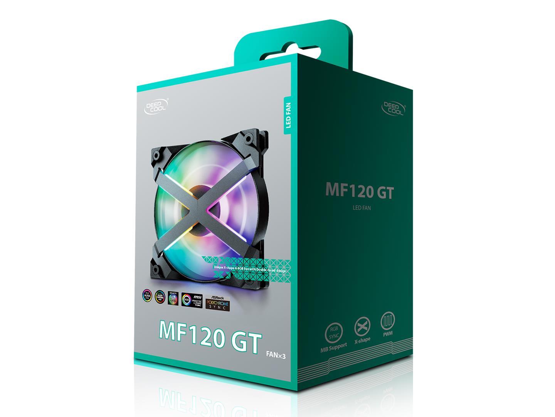 DeepCool Launches New Unique X-Frame MF120 GT A-RGB Fans