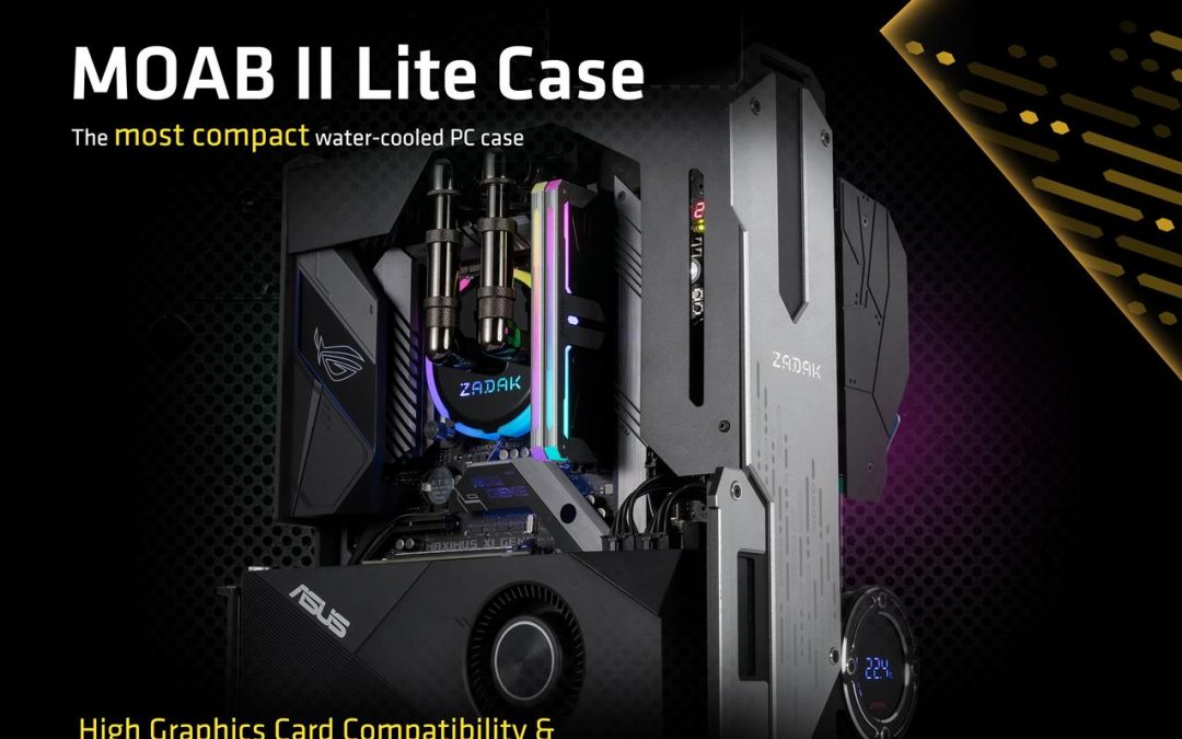 ZADAK Announces a New Flagship Compact Water Cooled PC with the MOAB II ELITE