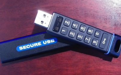 SECUREDATA – SecureUSB KP 8GB – Maximum Security on the GO
