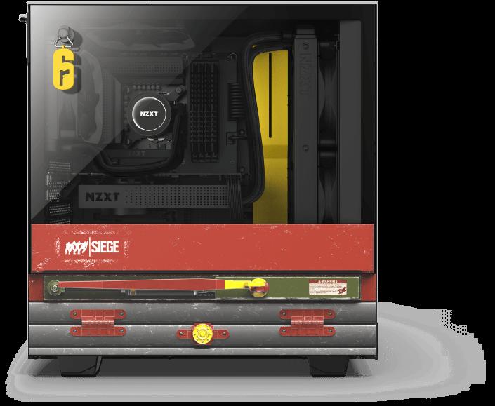 NZXT Announces CRFT 06 H510 Siege