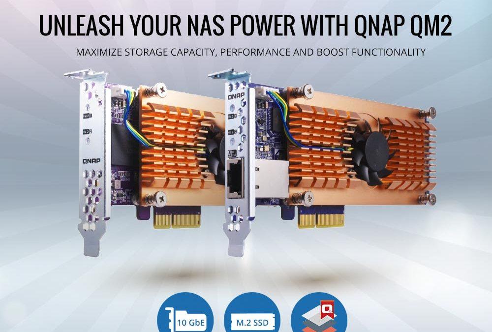 QNAP Releases QM2 Expansion Cards