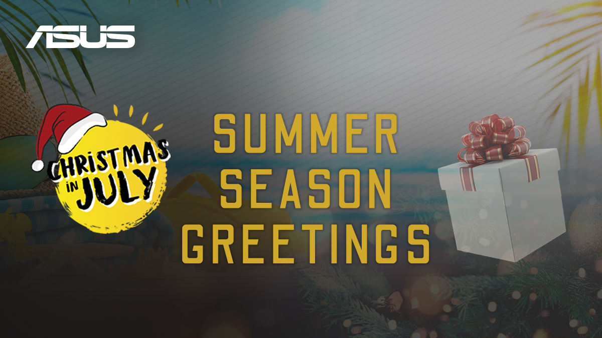 ASUS and Republic of Gamers United Kingdom Month Long 'Christmas in July'  Sales Event Returns With New Offers for 2020