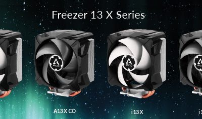 ARCTIC Introduces Freezer 13 X & Freezer 13 X CO Series