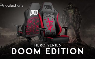 The DOOM Edition gaming chair by noblechairs is now available to purchase
