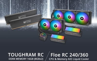 Thermaltake Floe RC360 / RC240 CPU & Memory AIO Liquid Cooler