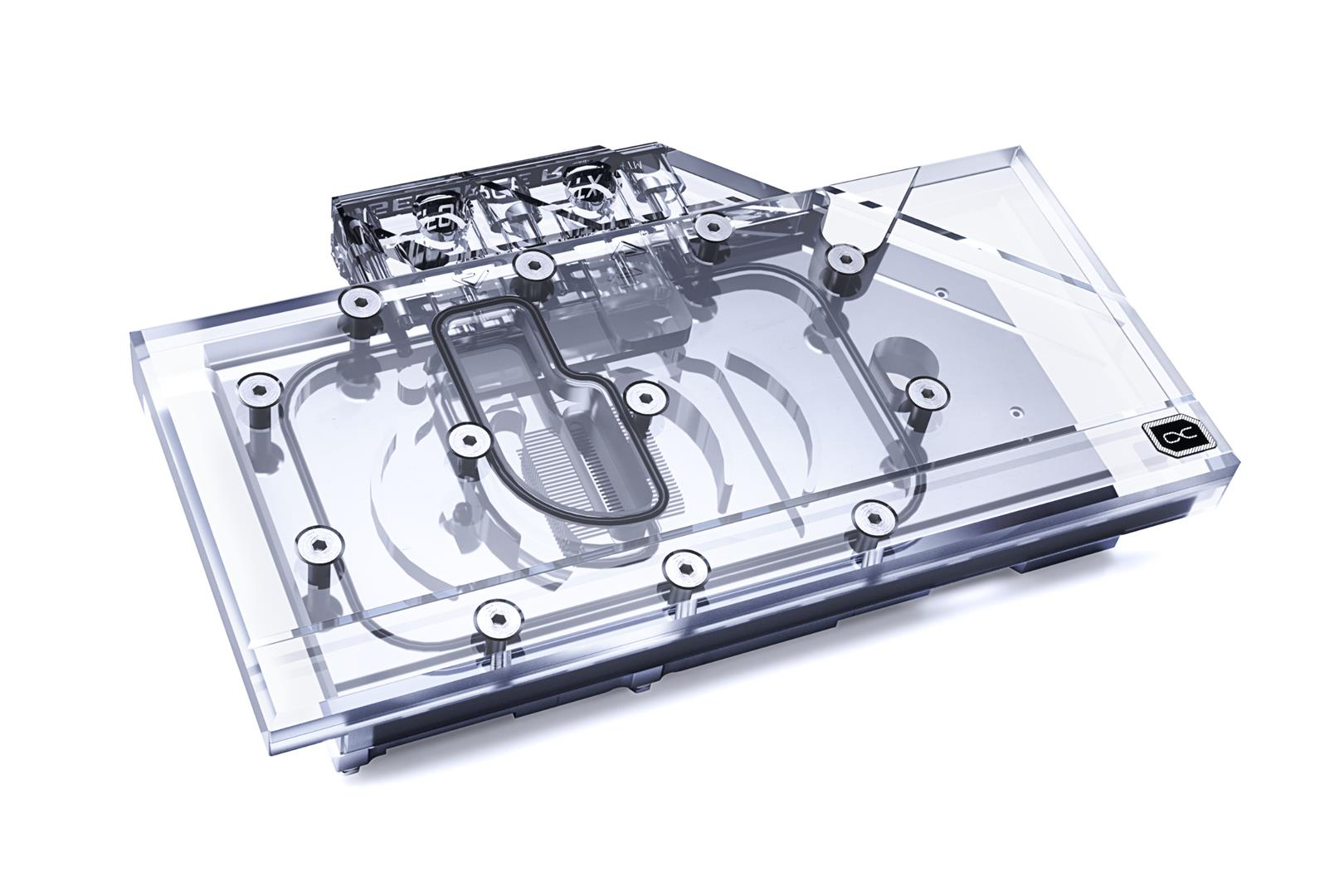 Alphacool Releases Eisblock Aurora Plexi GPX-N RTX 3080 Founders Edition with Backplate