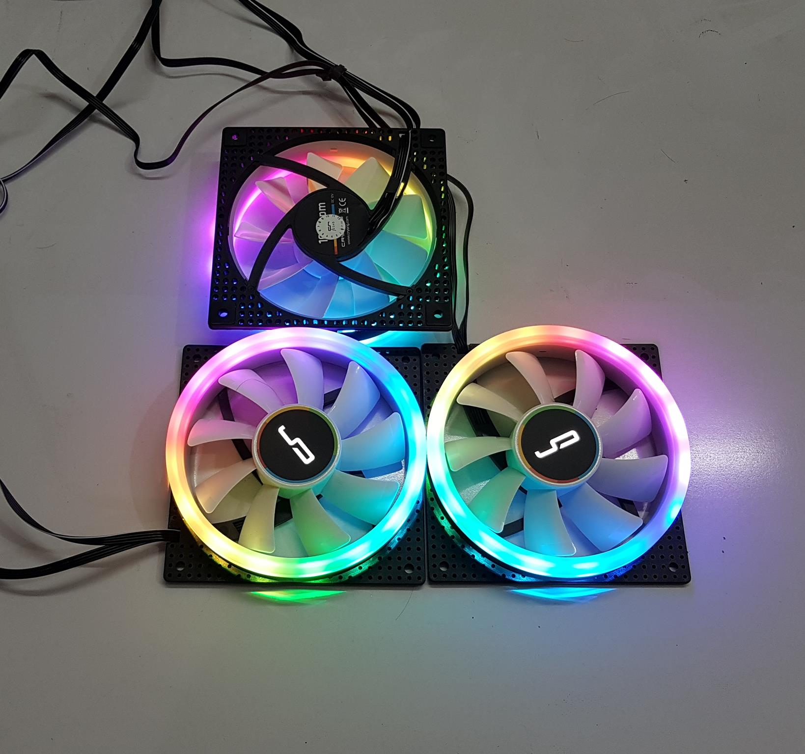 CRYORIG CRONA 120 ARGB S and X Fans review