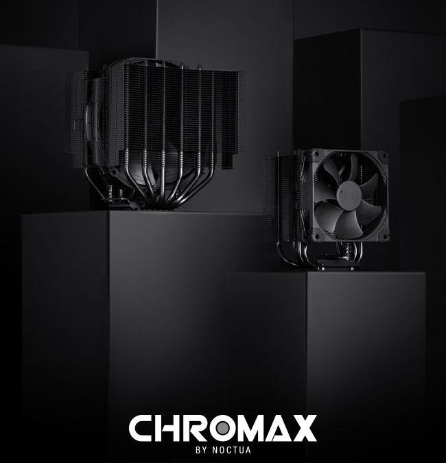 Noctua expands chromax.black line of CPU Coolers