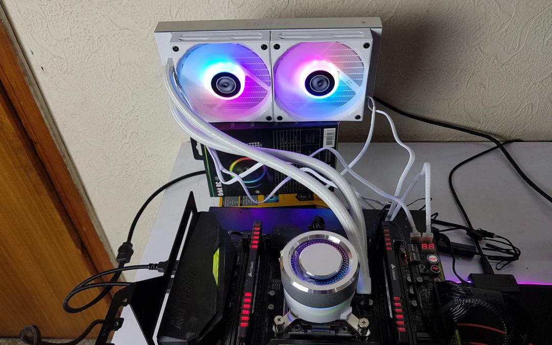 Lian Li GALAHAD AIO 240 Silver CPU Cooler Review