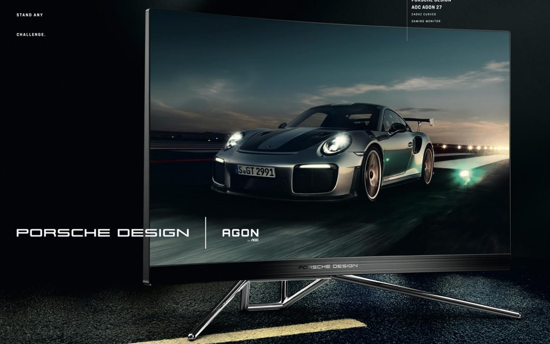 Porsche Design and AOC unveil the Porsche Design AOC AGON PD27