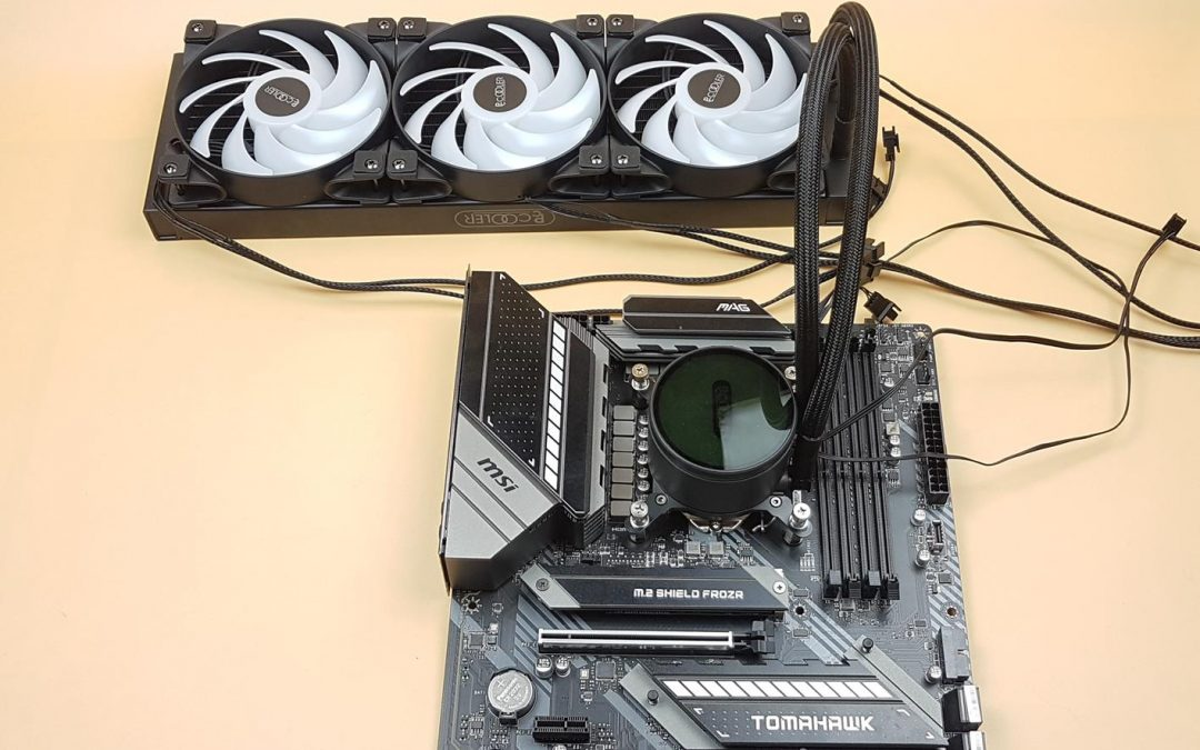 PCCOOLER GI-CX360 ARGB Cooler Review