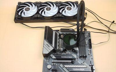 PCCOOLER GI-CX360 ARGB Cooler Review