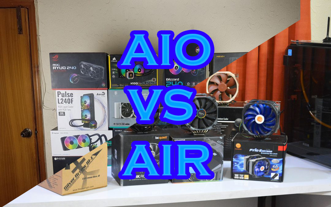 High-End Air Coolers vs 240mm AIO Coolers; A different perspective and round-up