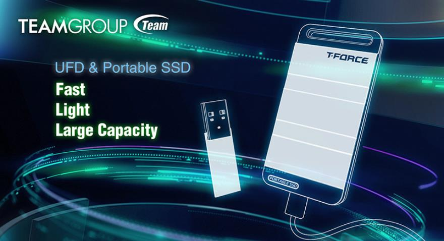 TEAMGROUP Leading Storage Products to a New Generation of Large-Capacity, Fast and Lightweight