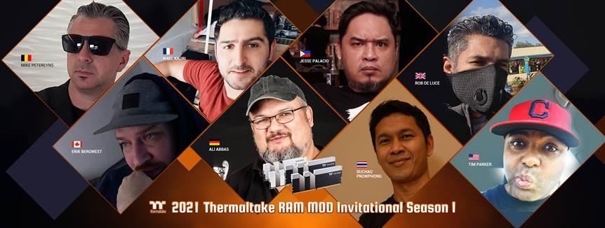 2021 Thermaltake RAM MOD Invitational Season 1  Final Voting Starts Today!