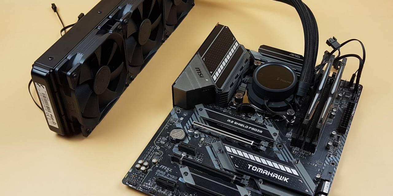 Fractal Design Celcius+ S36 Dynamic CPU Cooler Review